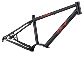 Steel E-Bike Frame