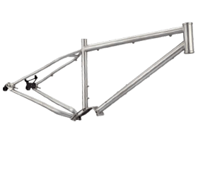 Stainless Steel Fat Bike Frame